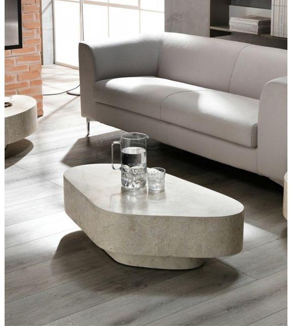 Stones Tavolino Trapezio FS/141/WA White Agata