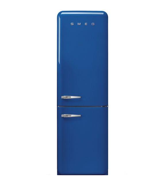 Smeg Frigorifero combinato anni\'50 FAB32RBE3 finitura blu da 60 cm