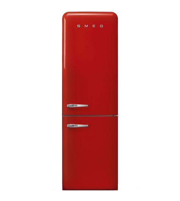 Smeg Frigorifero combinato anni\'50 FAB32RRD3 finitura rosso da 60 cm ...