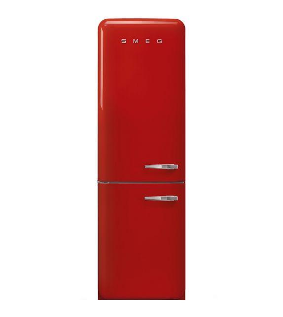 Smeg Frigorifero combinato anni\'50 FAB32LRD3 finitura rosso da 60 cm ...