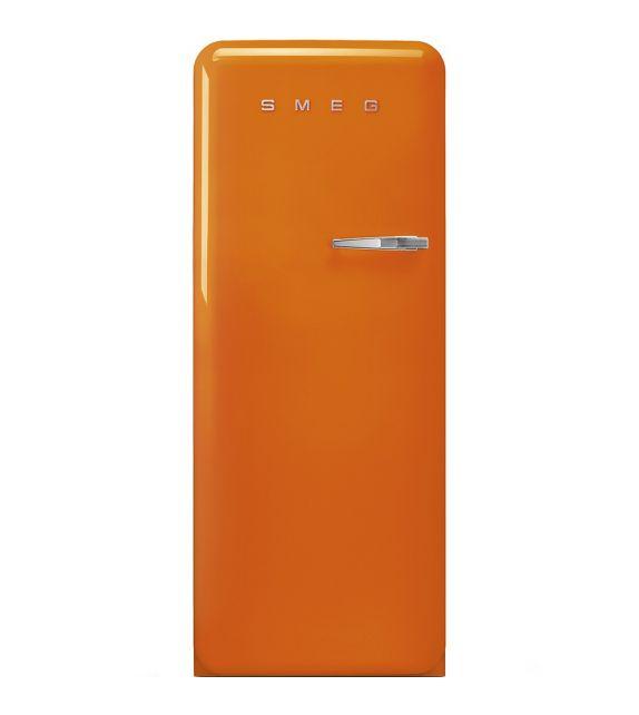 Smeg Frigorifero monoporta anni\'50 FAB28LOR3 finitura arancione da 60 cm