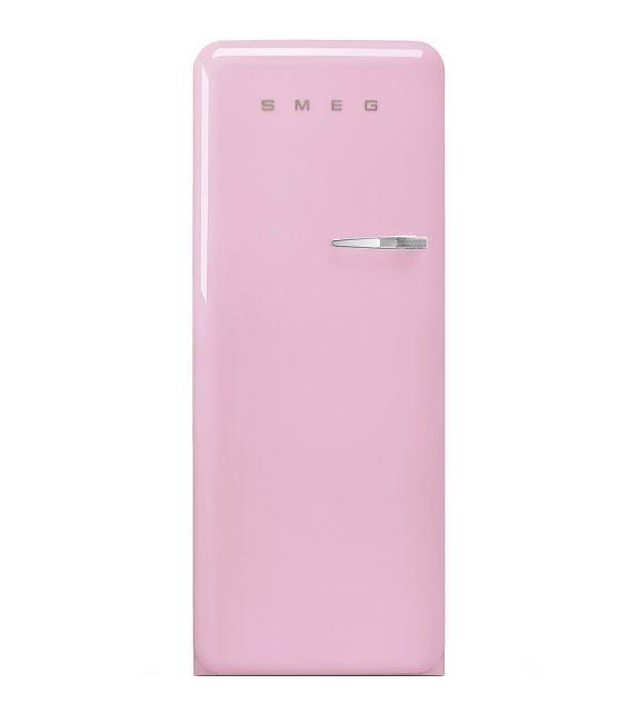 Smeg Frigorifero monoporta anni\'50 FAB28LPK3 finitura rosa da 60 cm