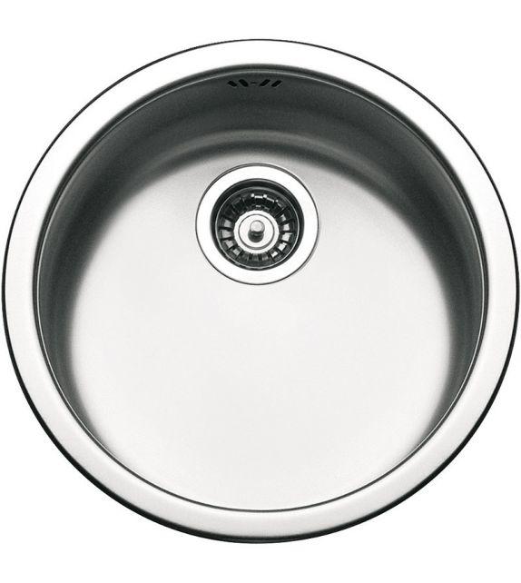 Smeg Lavello circolare ad una vasca 10I3P finitura acciaio inox spazzolato da diametro 43 cm