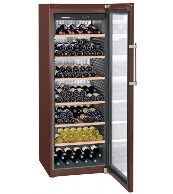 Liebherr Cantina vino WKt 5552 con porta in vetro e struttura terra da 70 cm