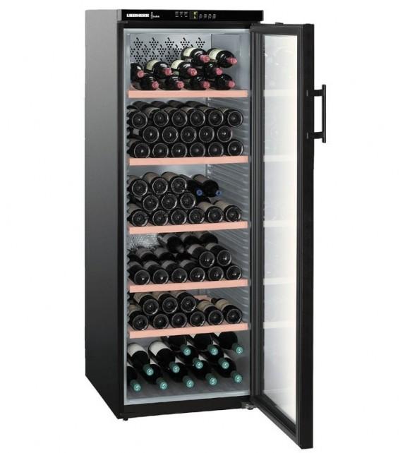 Liebherr Cantina vino WTb 4212 finitura vetro e nero da 60cm
