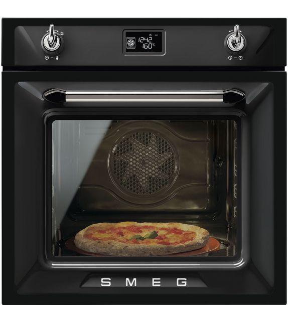 Smeg Forno termoventilato SF6922NPZE1 finitura nero da 60cm
