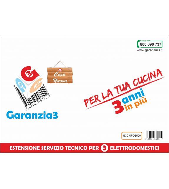 Garanzia3 Casa Nuova per 3 elettrodomestici - Massimale copertura 1000 euro