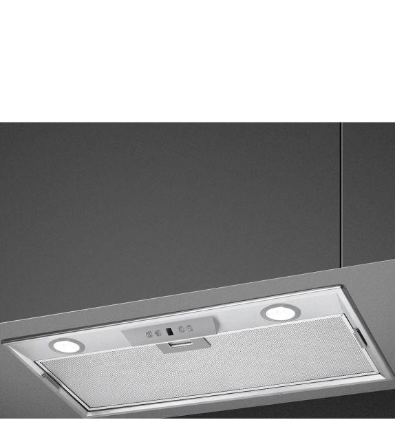 Smeg Cappa integrata a scomparsa KSEG5XSA finitura acciaio inox da 52 cm