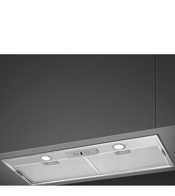 Smeg Cappa integrata a scomparsa KSEG7XSA finitura acciaio inox da 70 cm
