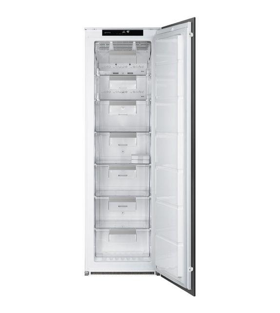 Smeg Congelatore monoporta ad incasso S7220FNDP1 finitura bianco da 55 cm