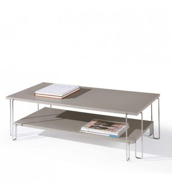 Maconi Tavolino Quasar 1080 in legno da 105x55 cm e h. 33 cm serie Coffee Table collection