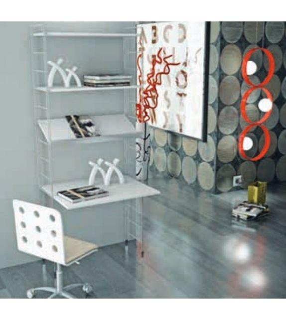 Libreria Link L10 Maconi finitura bianco o grigio - IN PRONTA CONSEGNA