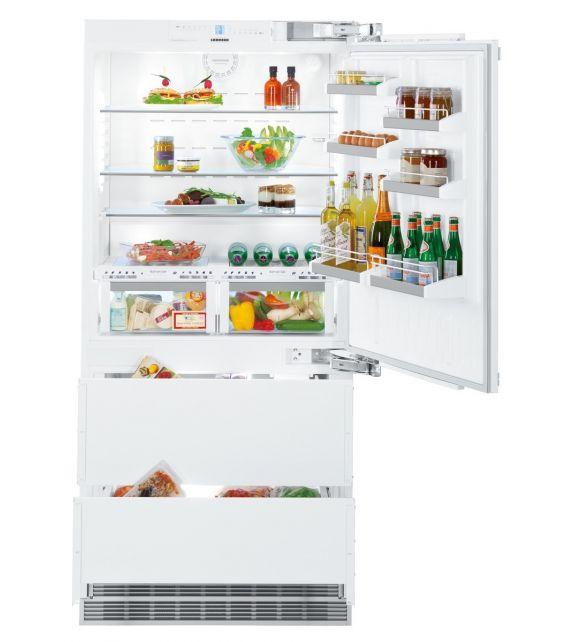 Liebherr frigorifero combinato integrabile con cerniere a destra ECBN 6156-001 da 91.5cm
