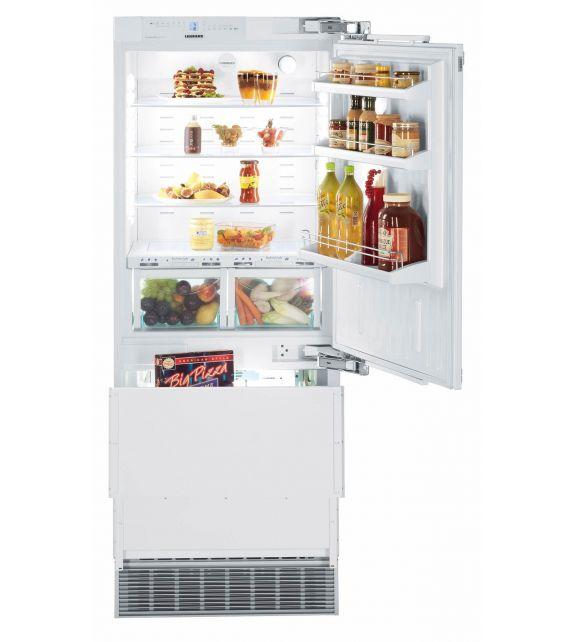 Liebherr frigorifero combinato integrabile con cerniere a destra ECBN 5066-001 da 76.2cm