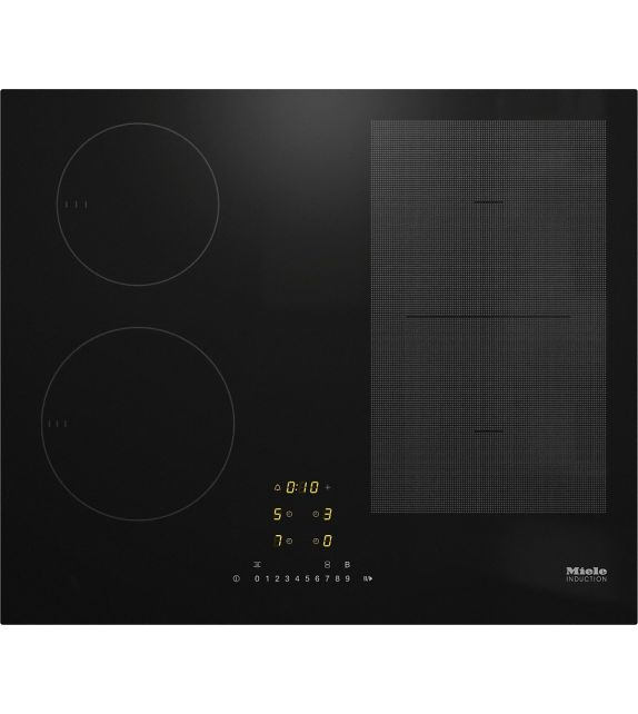 Miele Piano cottura ad induzione KM 7464 FL finitura nero da 62cm