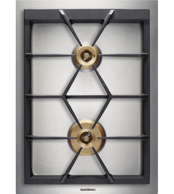 Gaggenau Piano cottura a gas VG 425 111F finitura acciaio inox da 38cm