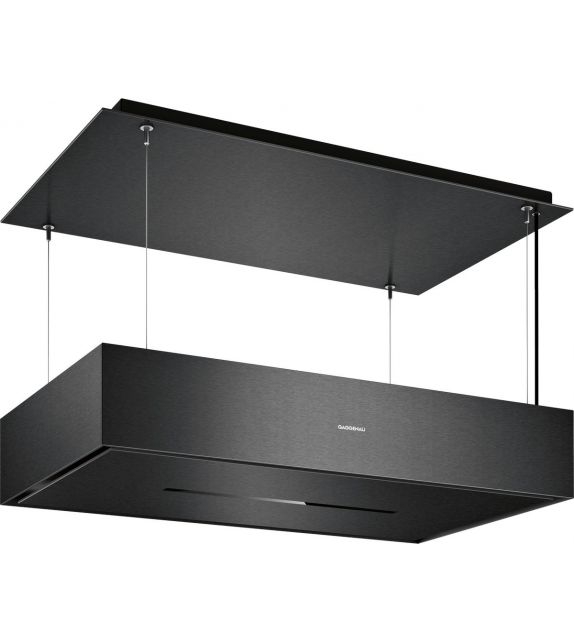 Gaggenau Cappa a soffitto AC 270 101 finitura nero da 105 cm