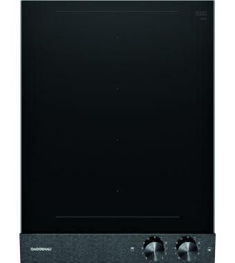 Gaggenau Piano cottura ad induzione VI 242 120 con pannello di controllo nero da 38 cm