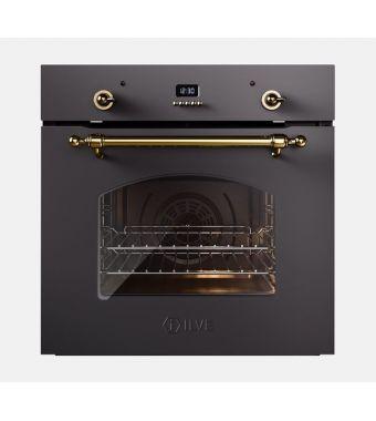 Ilve Forno elettronico multifunzione Nostalgie 600CE3 in acciaio inox o verniciato da 60 cm