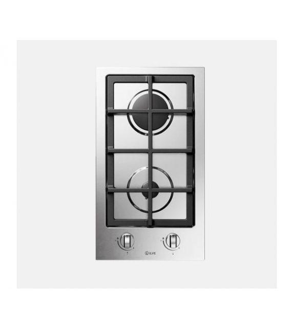 Ilve Piano cottura a gas Pro Line HCL30K in acciaio inox o smaltato da 30 cm