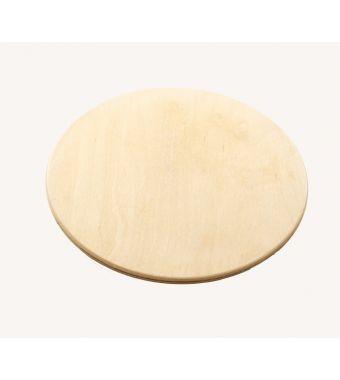 Ilve Tagliere tondo EA6830003500000 in legno da 33 cm