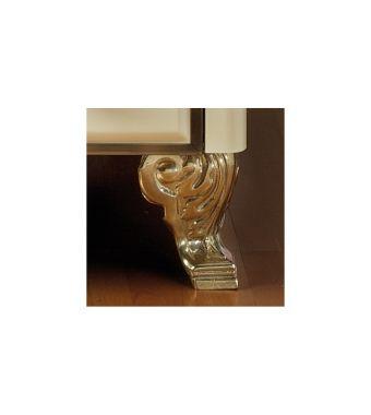 Ilve Piedino G/422/12/18 finitura brunito da h. 15 cm