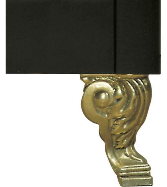 Ilve Piedino G/422/12/16 finitura ottone massiccio da h. 15 cm