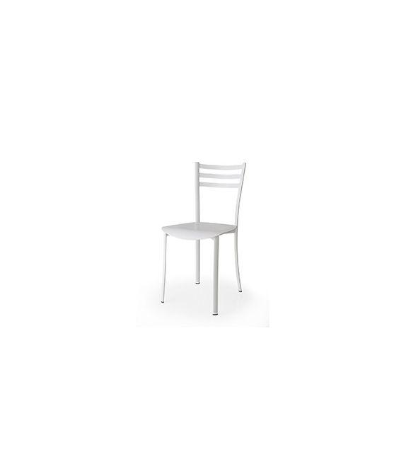 Connubia Sedia Ace CB1693 con struttura in metallo e sedile multistrato rovere da h. 84 cm