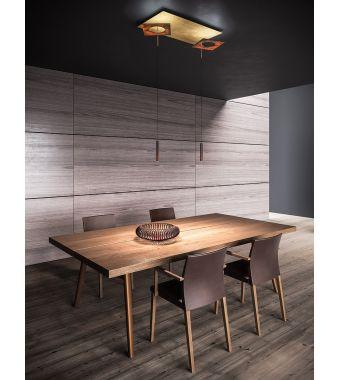 Minitallux Lampada da sospensione a LED Petra S4.R in diverse finiture by Icone Luce