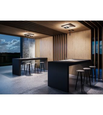 Minitallux Lampada da sospensione a LED Petra 3 in diverse finiture by Icone Luce