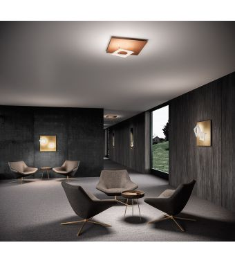 Minitallux Plafoniera a LED Petra 66 in diverse finiture by Icone Luce