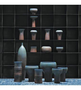 Adriani & Rossi Vasi Mr Blue in ceramica