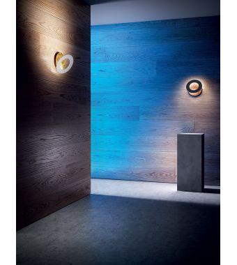Minitallux Lampada a parete a LED Vera 21 in alluminio by Icone Luce
