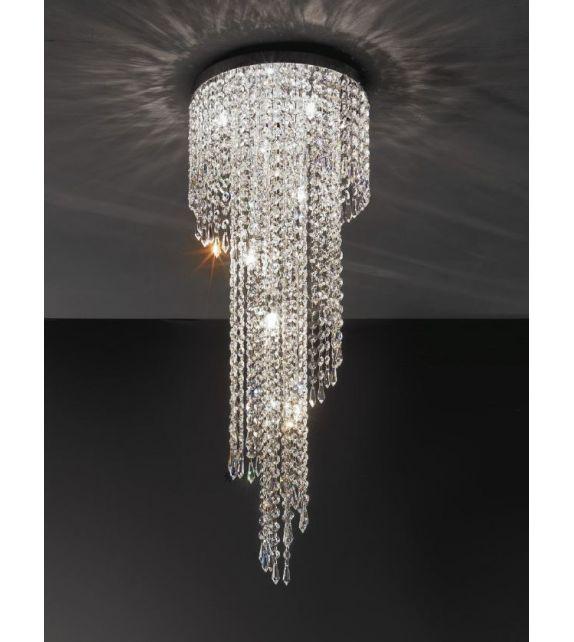 Minitallux Lampada a sospensione Astrid 10xG9 da 32xH. 80 cm by Antealuce