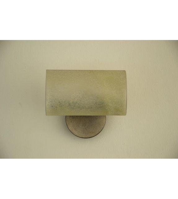Minitallux Lampada da parete 1xE14 in vetro scavo by Florenz