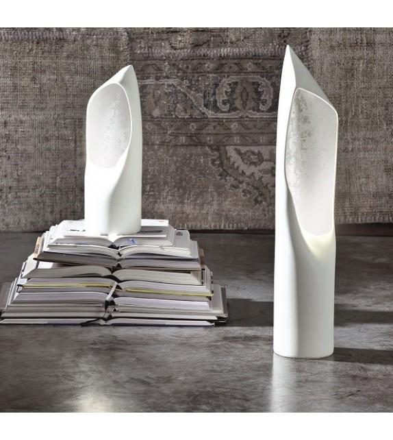 Lampada da Tavolo in Ceramica Hood H.42 cm Elite