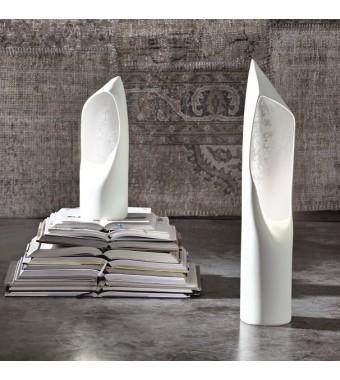 Lampada da Tavolo in Ceramica Hood H.67 cm Elite