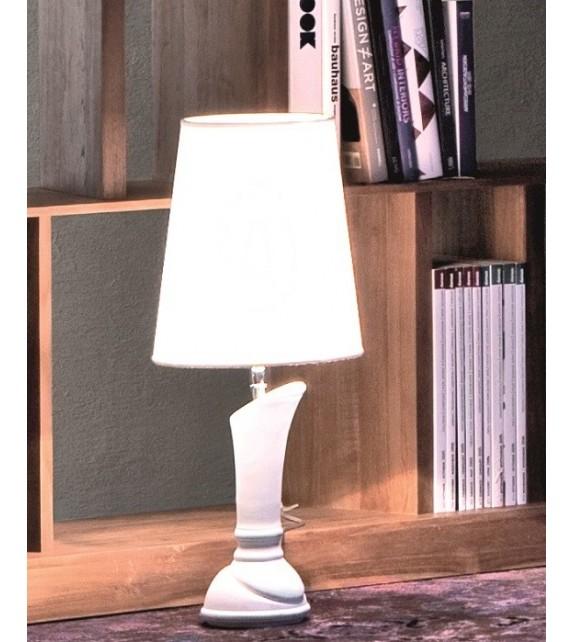Lampada da Tavolo in Ceramica Katana Elite diam. 18 xh 60 cm