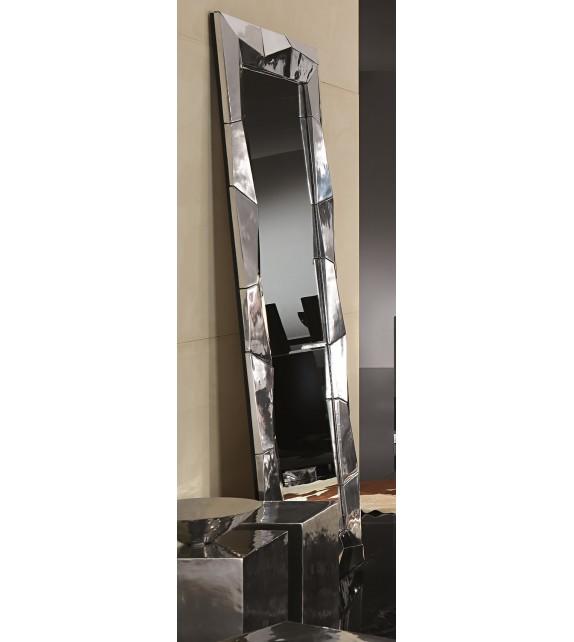 Specchiera Rettangolare in alluminio Alux Elite 88x6x190 cm