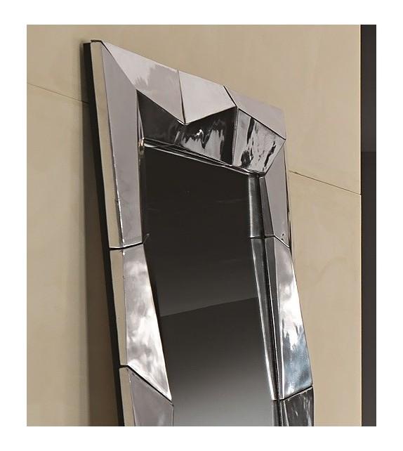 Specchiera Quadrata in alluminio Alux Elite 88x6x88 cm