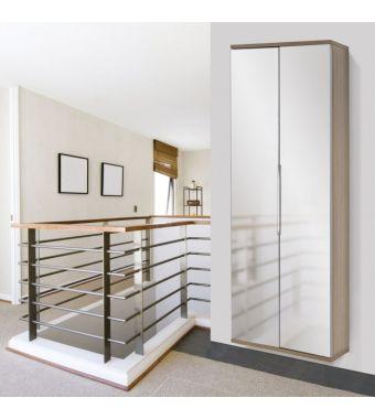 Maconi Scarpiera Family 835 in legno con specchio da 39 paia serie Shoe Holder collection