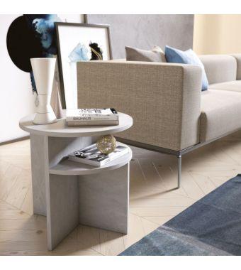 Maconi Tavolino Up and Down 1147 in legno da 50 cm e h. 50 cm serie Coffee Table collection