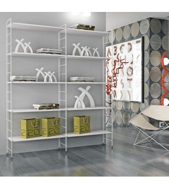 Maconi Libreria Composizione L11 da 156 cm serie Link collection