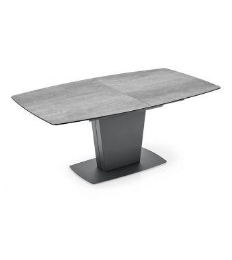 Connubia Tavolo allungabile Athos CB4783-R 150 con struttura e gambe in metallo da 150(200)x100 cm