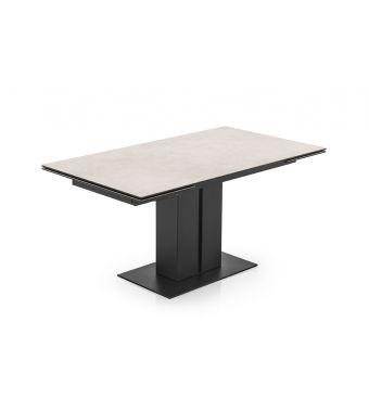 Connubia Tavolo allungabile Pegaso CB4799-R 150 con struttura in metallo e piano in ceramica da 150(230)x90 cm