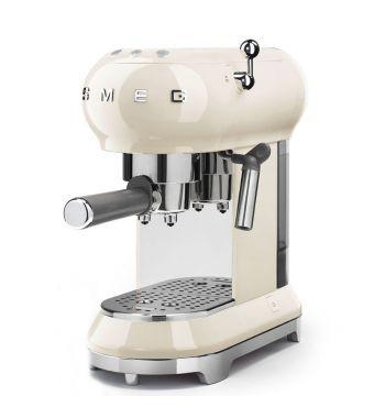 Smeg Macchina da caffe' espresso ECF01CREU finitura panna