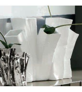 Adriani & Rossi Gruppo di 5 Vasi Skyline Up in Ceramica Smaltata