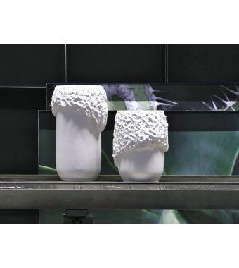 Adriani & Rossi Vaso Beluga in ceramica smaltata