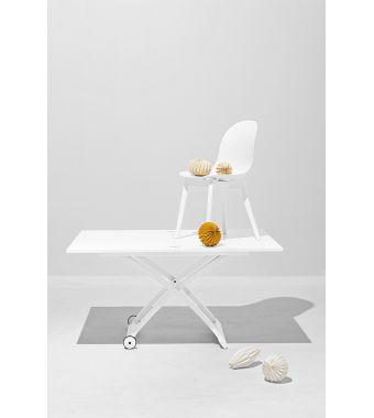 Connubia Tavolino trasformabile Mascotte CB490 in legno da 105x70(140) cm