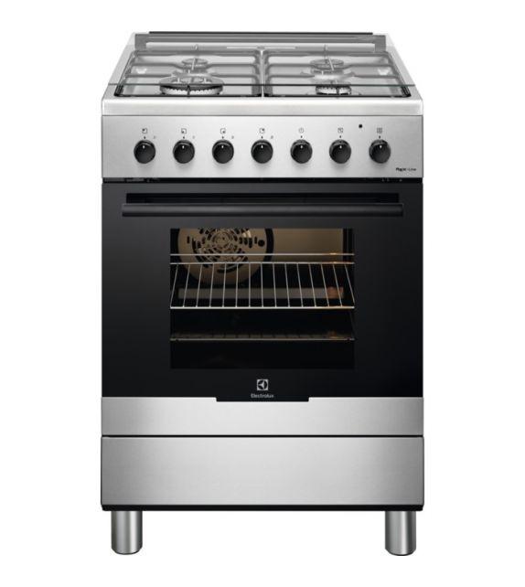 Electrolux Cucina a gas RKK61380OX finitura inox da 60cm